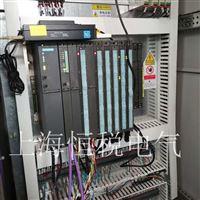 西门子CPU410SMART上电所有灯全部都亮维修