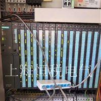 西门子S7-400PLC上电INTF灯常亮报警维修