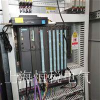 西门子S7-400CPU启动所有灯全部都闪维修
