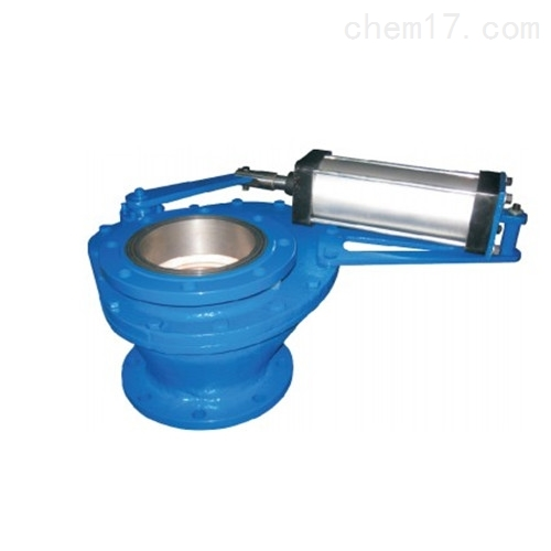 气动陶瓷旋转摆动阀