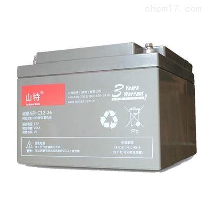 C12-7山特铅酸免维护阀控式蓄电池12V7AH