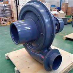 塑料吹膜机专用中压鼓风机