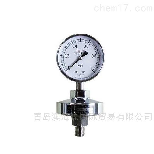 SPG-A-G3 / 8-100-S隔膜压力表日本ASK