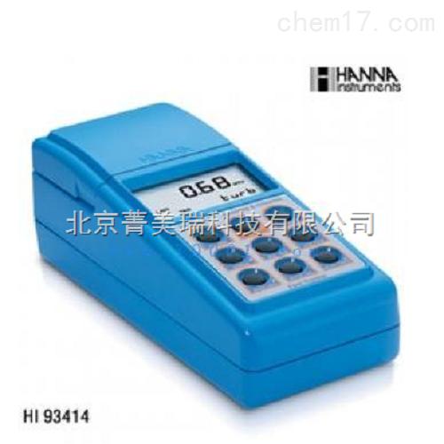 高精度浊度/余氯/总氯多用途测定仪