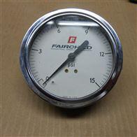 G-3522仙童Fairchild压力表,轴向面板安装压力计