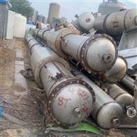 二手4效8吨强制循环降膜蒸发器