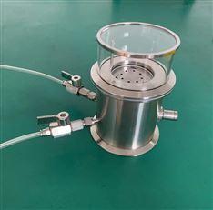 惰性气体保护LiBS样品池