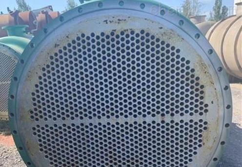 二手80平方不锈钢列管冷凝器