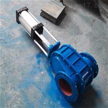 Z674TC气动陶瓷对夹出料阀