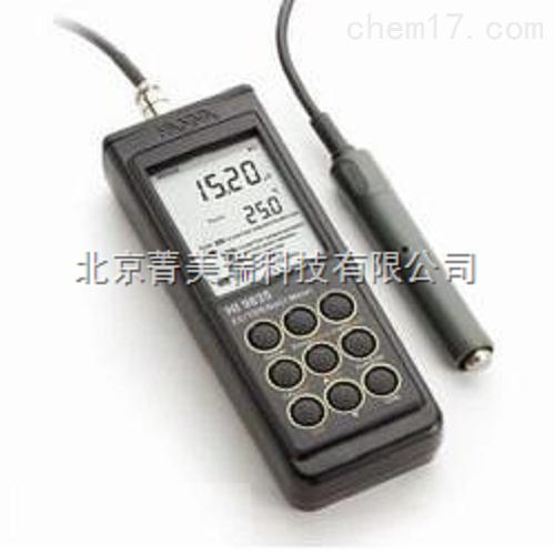 实验室防水型EC/TDS/NaCl/℃测定仪