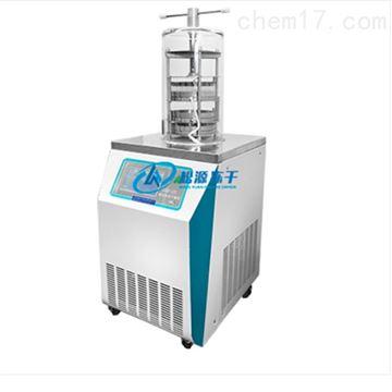 LGJ-12S钟罩式冷冻干燥机 压盖型(0.08㎡电加热)