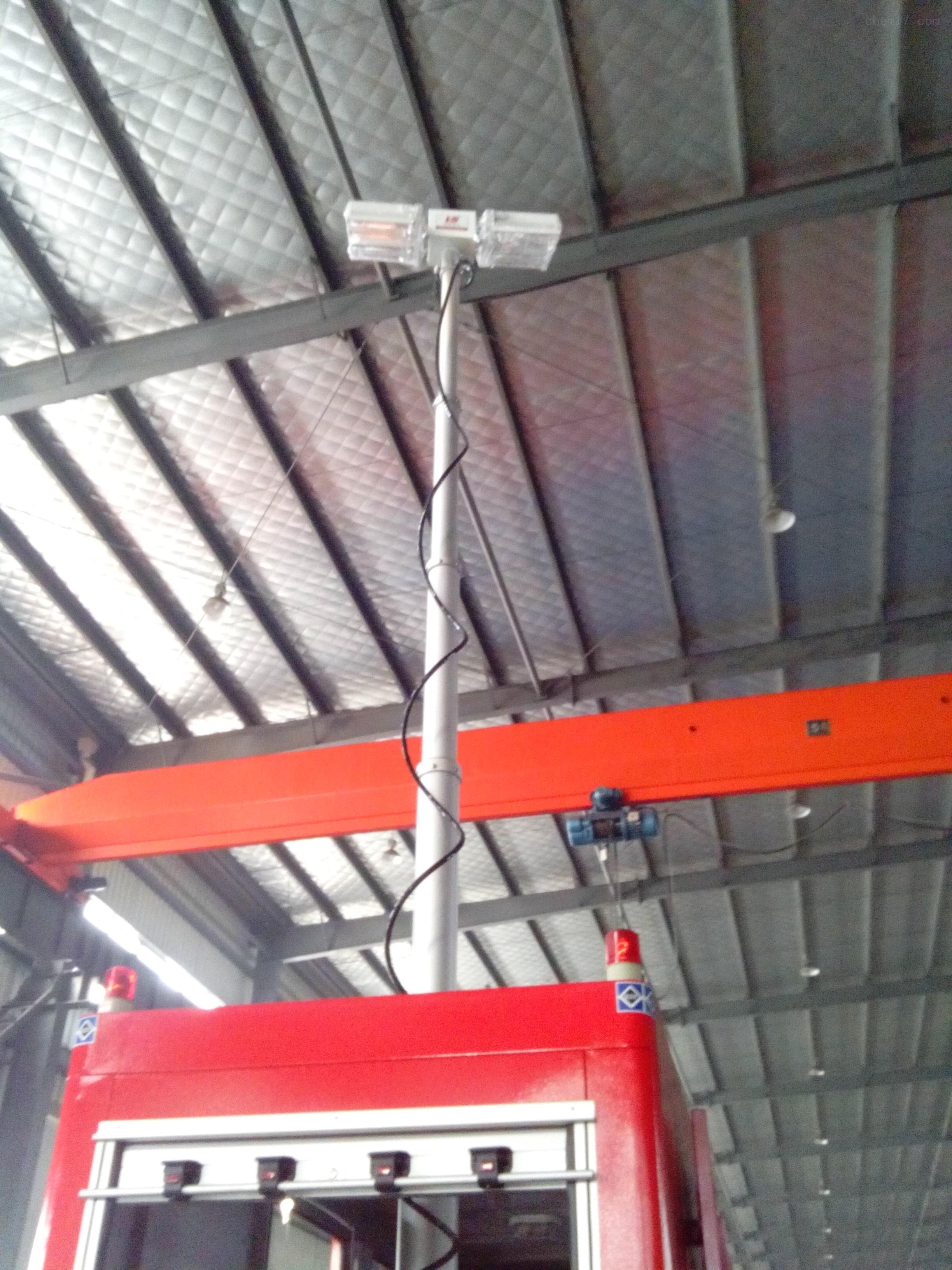 4.5米照明灯装置 特种车辆升降灯 云台探照灯 制造厂家