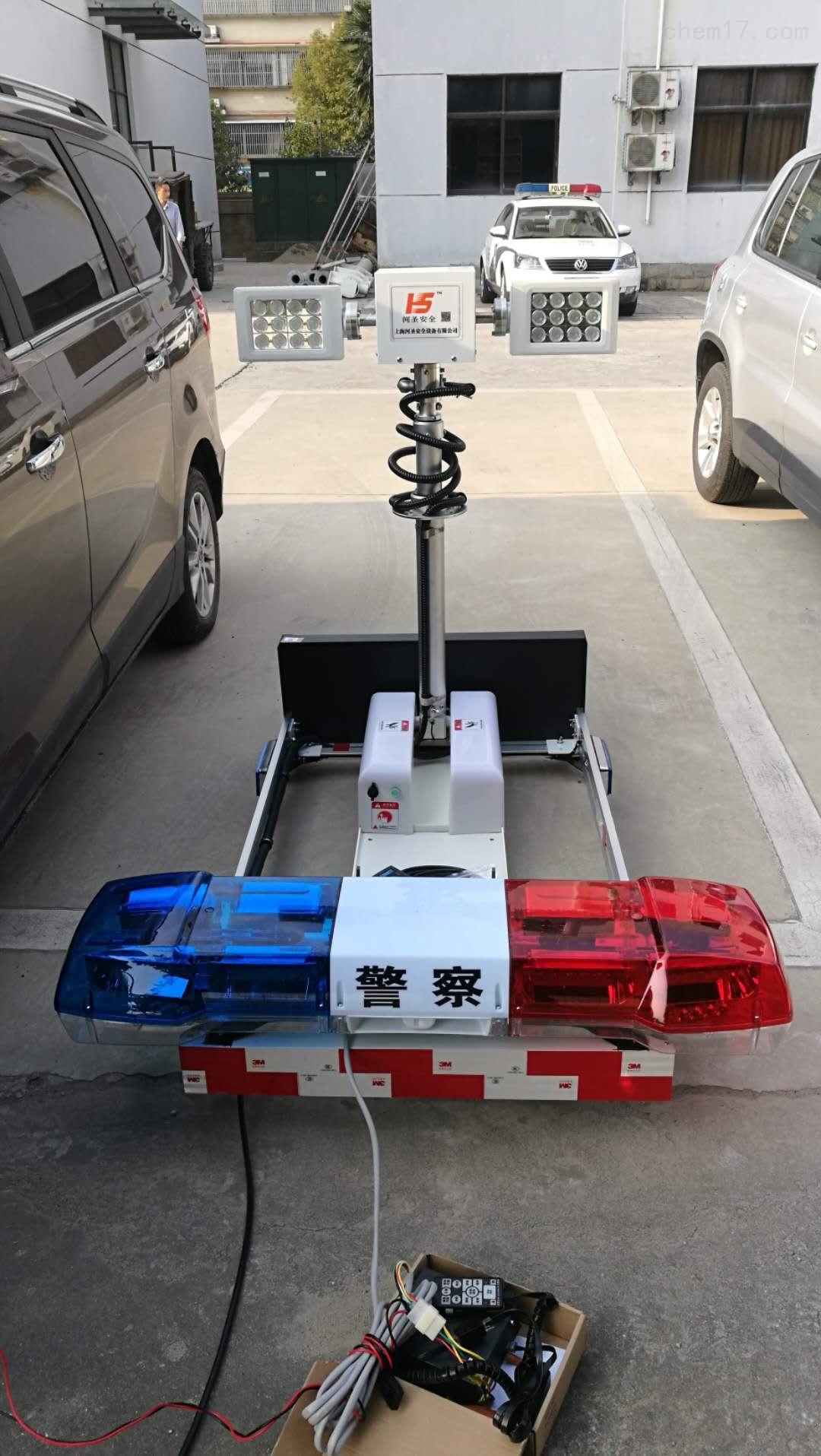 河圣牌 车载式升降照明设备 2000W照明灯 交流电源