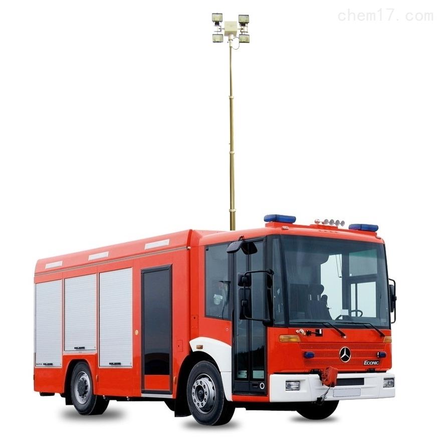 上海河圣 气动式升降灯 车载照明设备