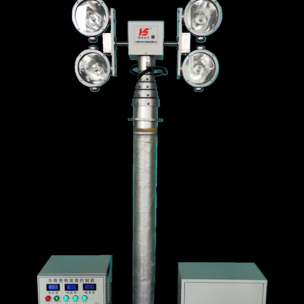 河圣安全 移动式照明灯 3000W照明 技术参数