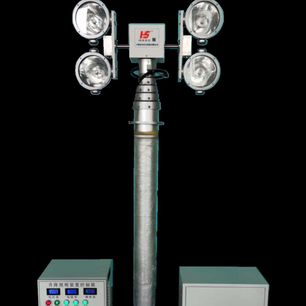 车载应急升降灯 移动升降照明设备