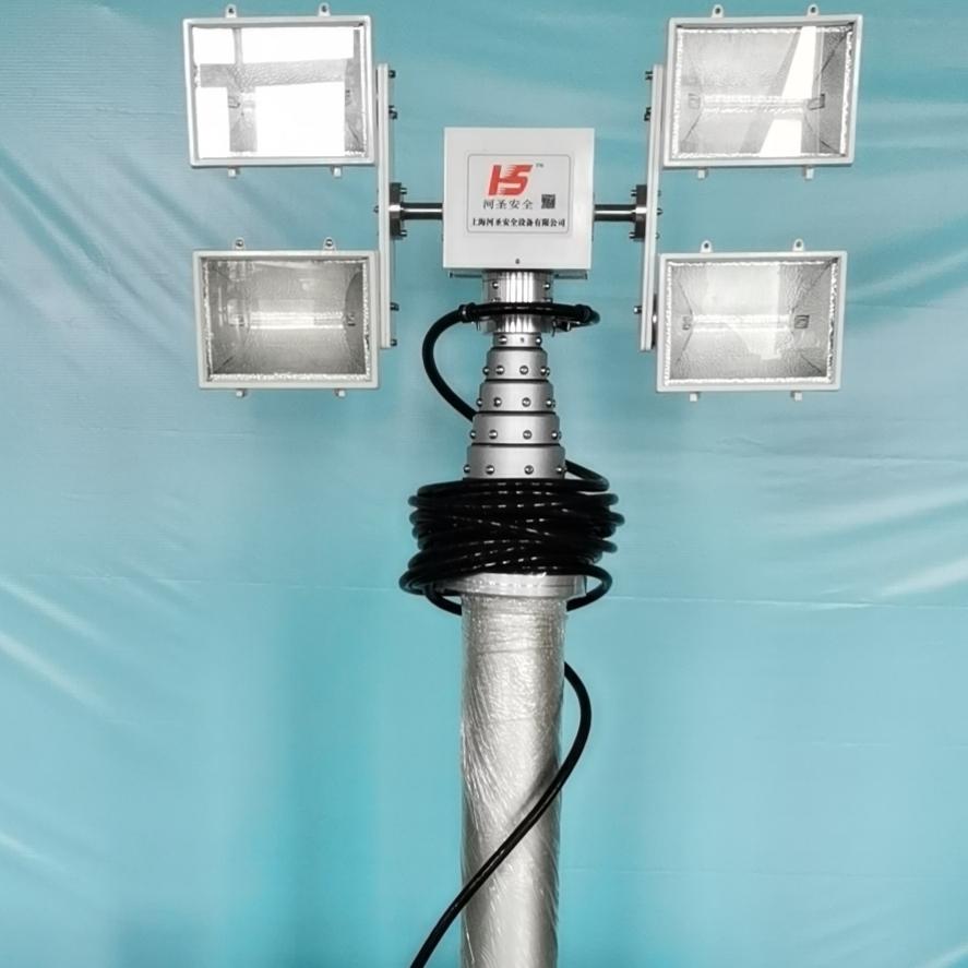 消防应急照明装置 移动升降设备 河圣品牌