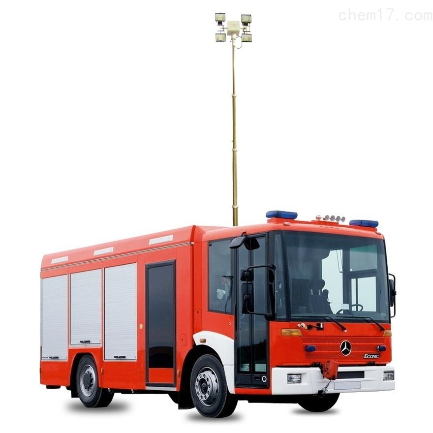 移动消防应急灯 便携式升降探照灯