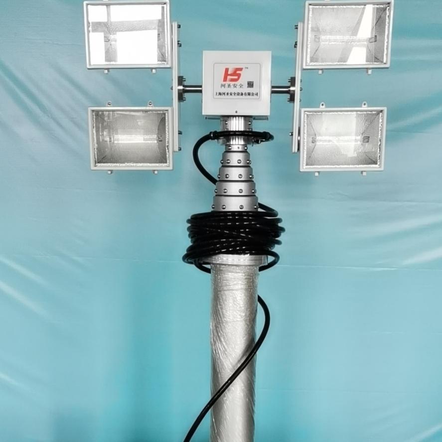 河圣牌 升降式照明灯 6灯头泛光灯 定制服务