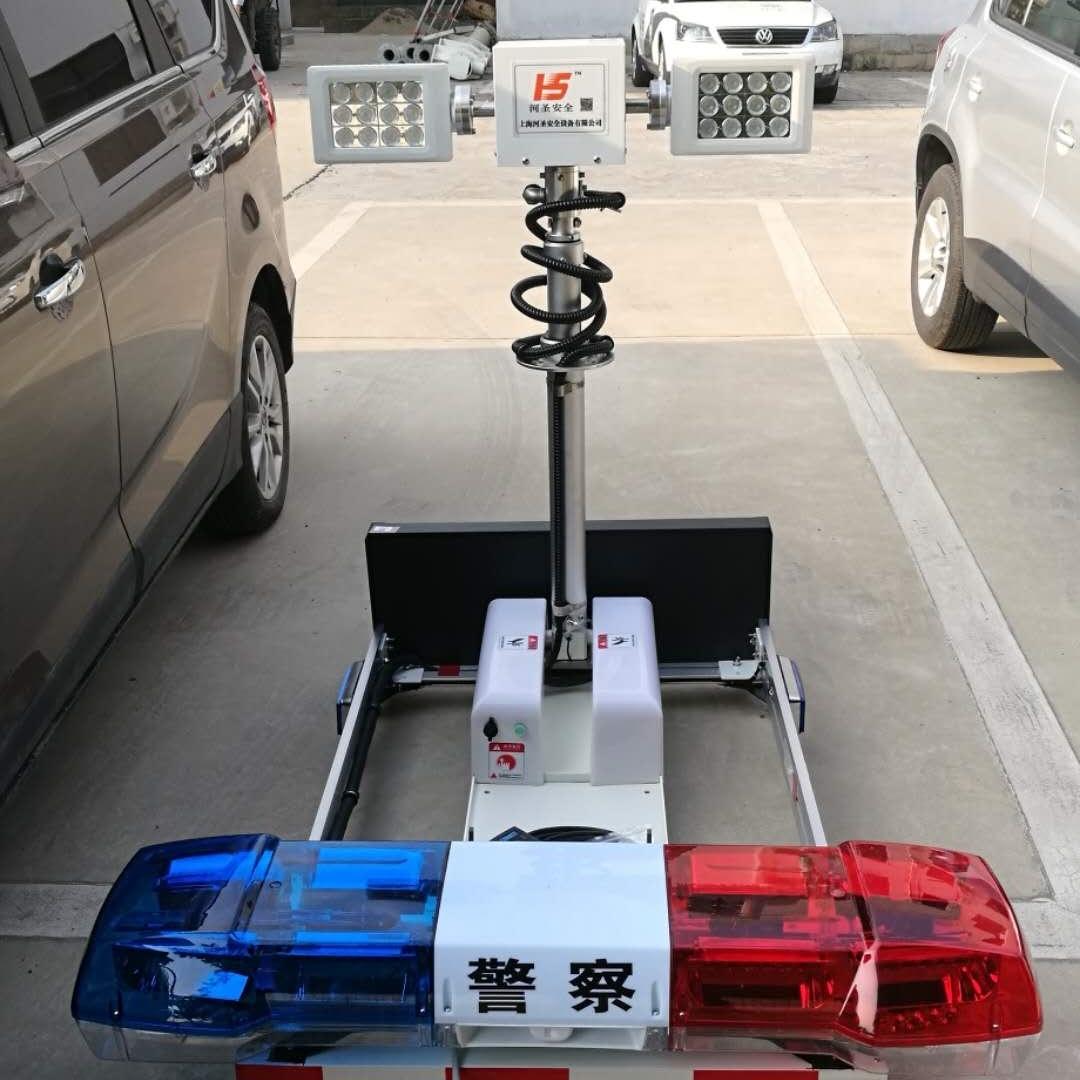 移动升降照明系统 车载升降灯 河圣牌