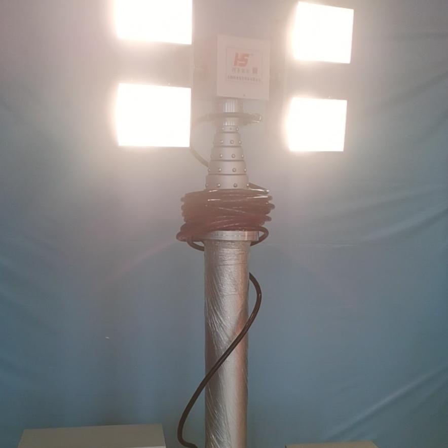 移动遥控升降灯 便携式升降设备 河圣牌