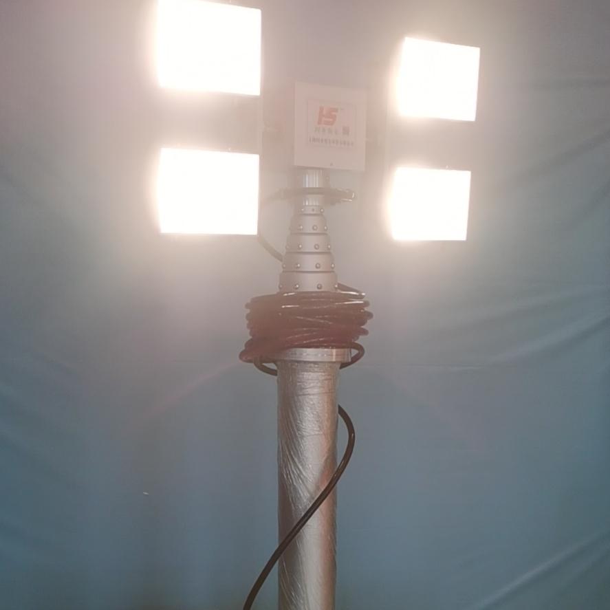 车顶升降照明装置 移动升降车 河圣安全