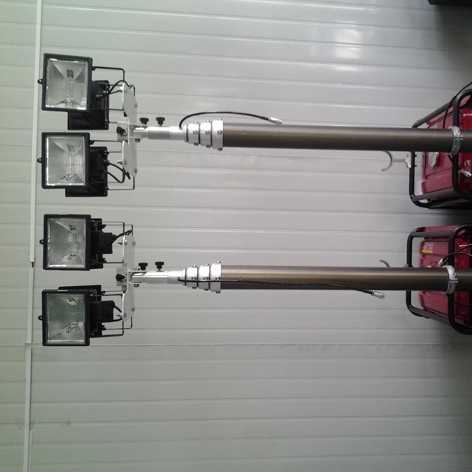 1.2米照明设备 车顶升降照明灯设备