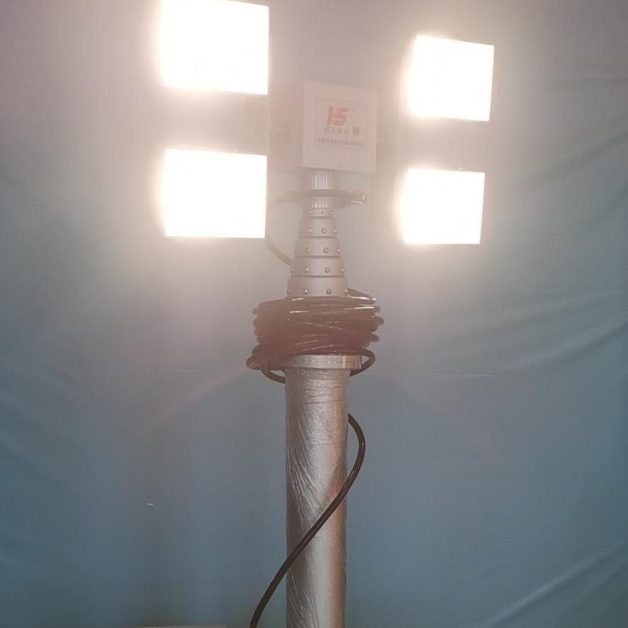 4000Wled泛光灯 事故现场照明 气动杆灯具