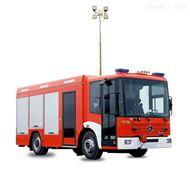 车载移动升降灯河圣安全设备 倒伏机构