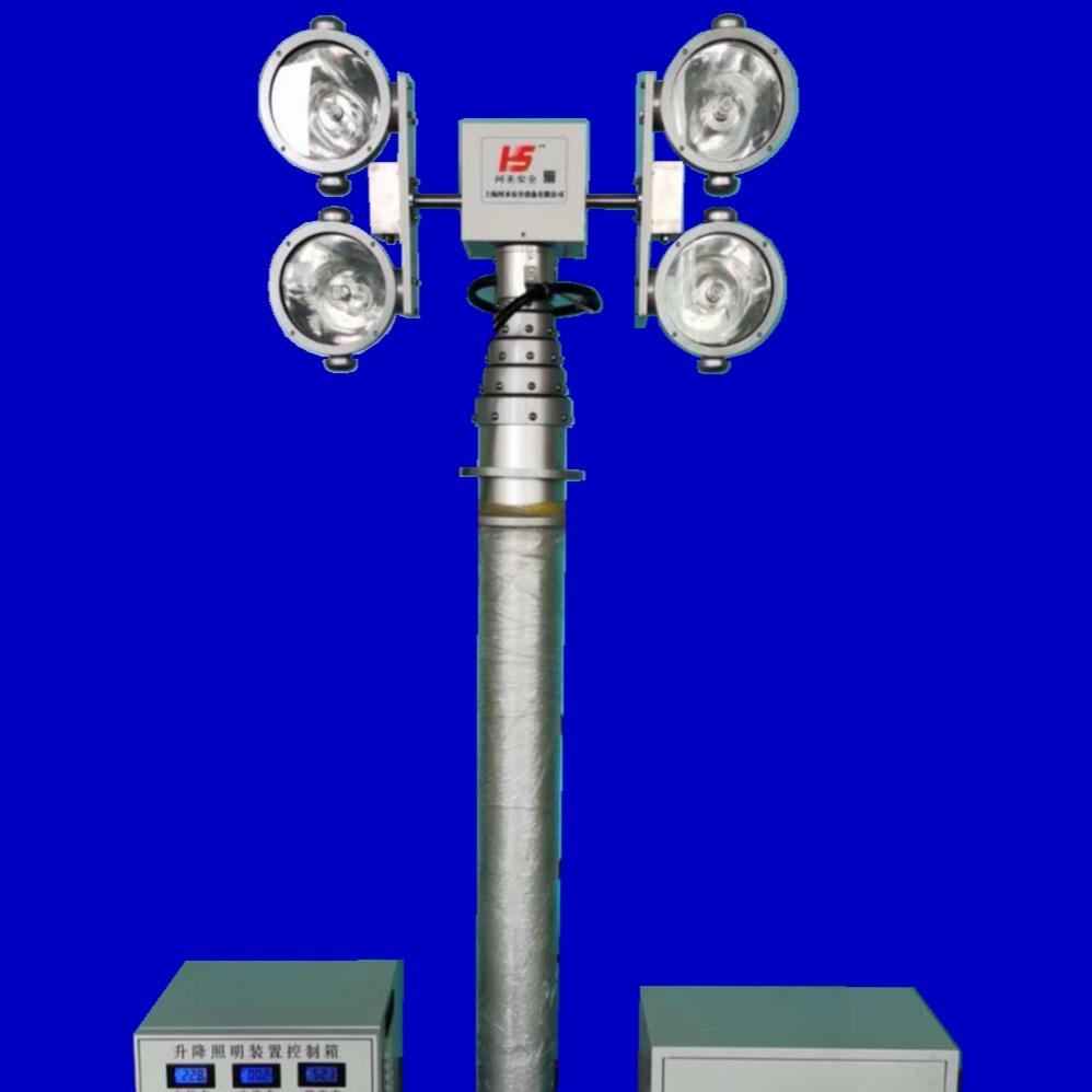 大功率升降照明系统 3000W照明灯 河圣牌