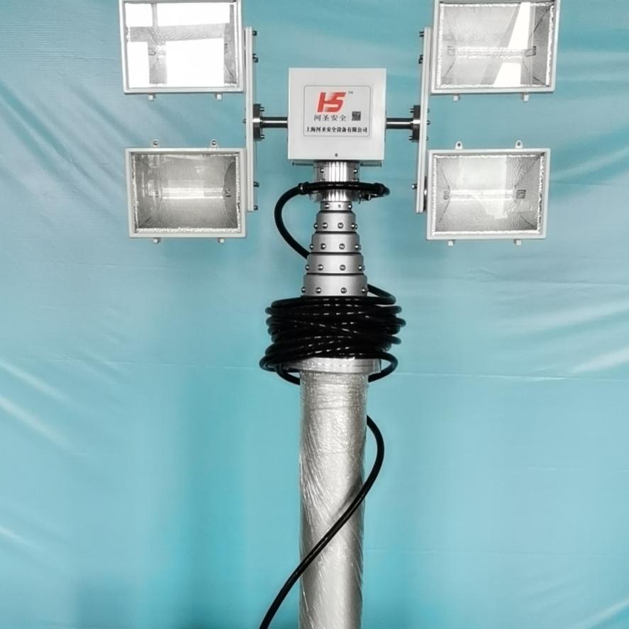 气动式照明灯 升降照明设备 移动升降设备