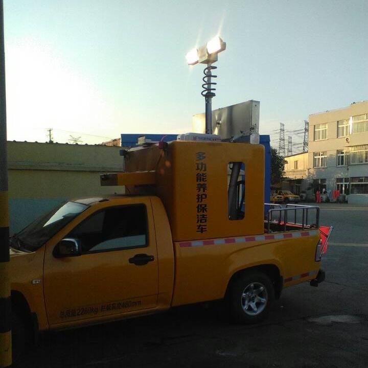 河圣牌 气动升降杆照明装置 大功率照明灯