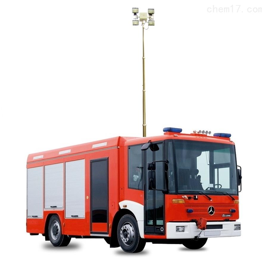 上海河圣 气动式照明灯 4灯头照明车