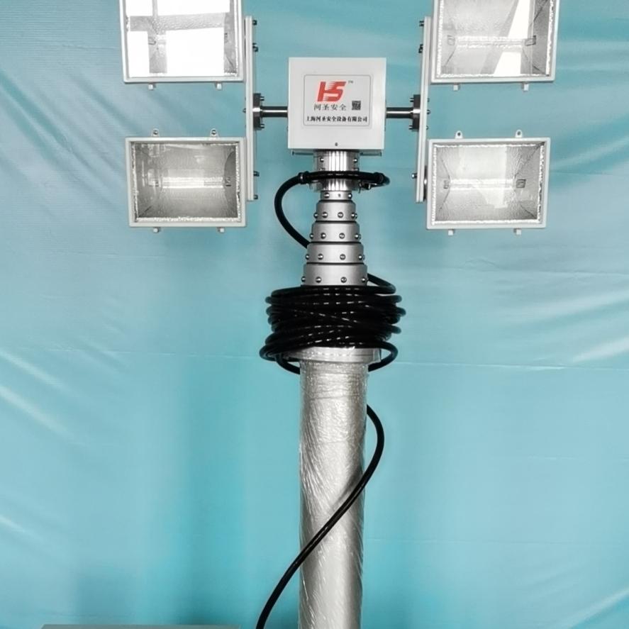河圣牌 移动式升降照明设备 6000W照明灯