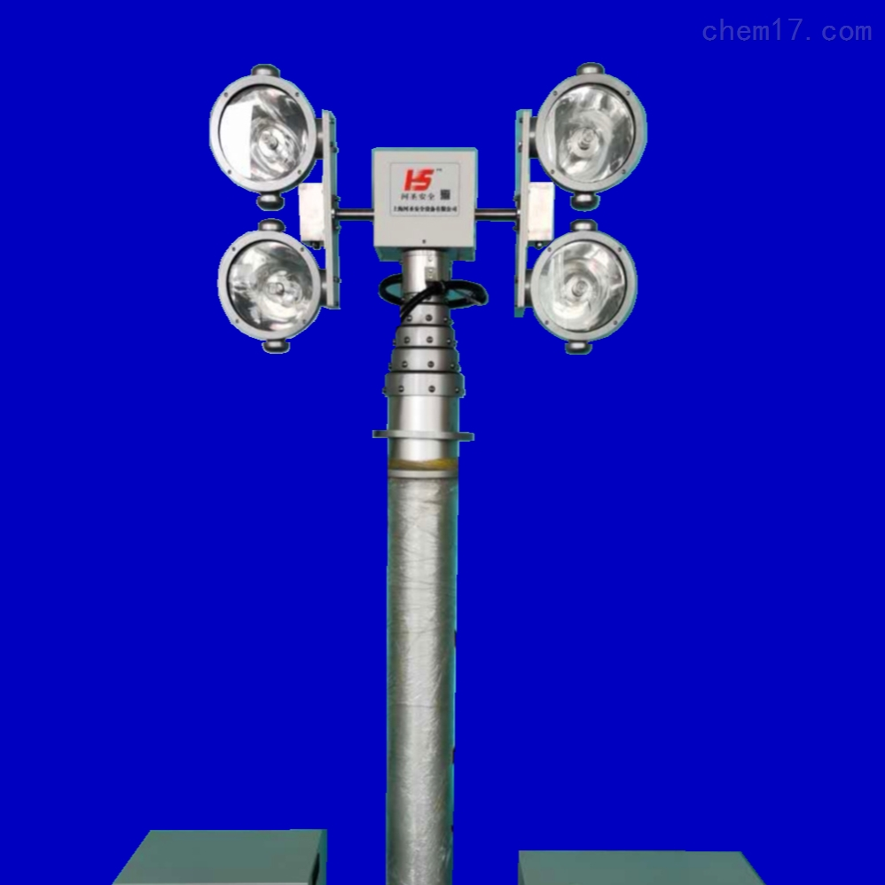 车载遥控升降灯 移动升降照明设备 河圣安全
