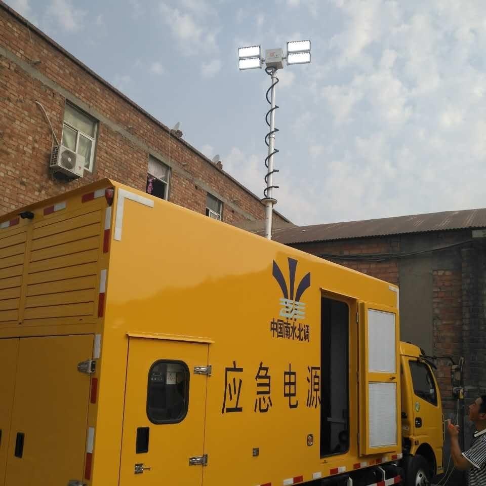 上海河圣 车载移动照明设备 8灯头照明灯
