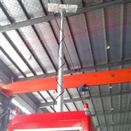 河圣安全 气动升降杆照明装置 移动照明设备