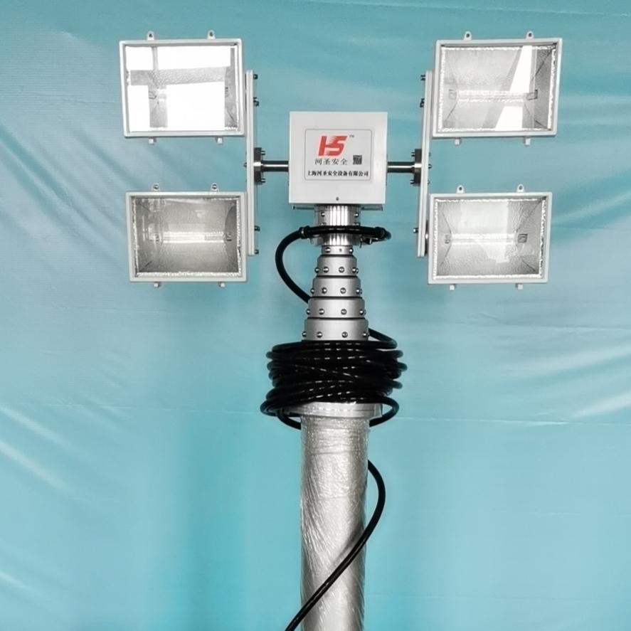 上海河圣 气动式照明灯 车载照明设备