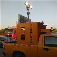 12V车顶升降探照灯 便携式升降应急灯 河圣