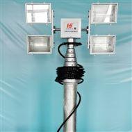 河圣安全 直立式升降照明设备 3000W照明灯