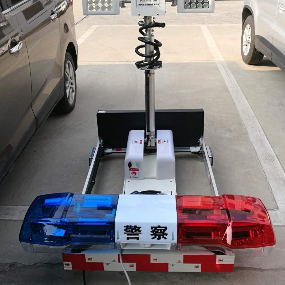 河圣牌 车载式升降照明设备 大功率照明灯