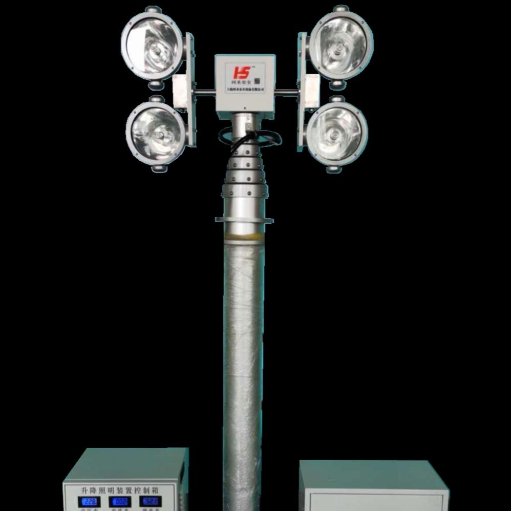 河圣安全 升降探照设备 2000W照明灯