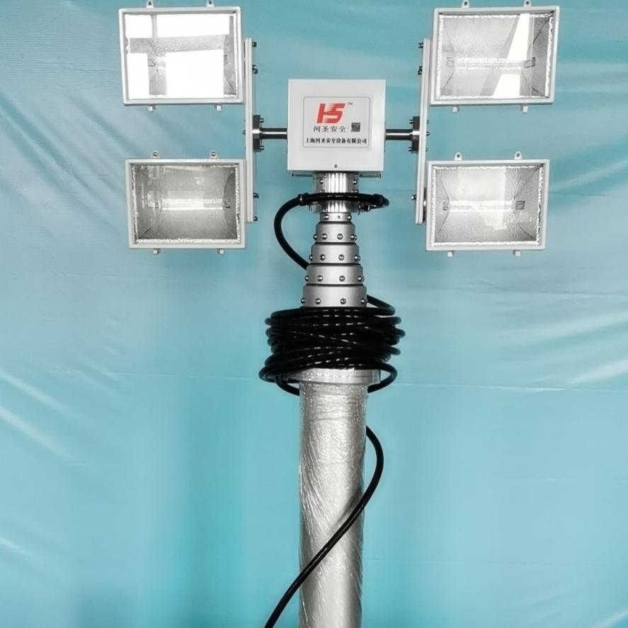 直臂式照明灯-升降探照灯、技术参数