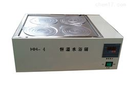 HH-4(双列)四孔恒温水浴锅