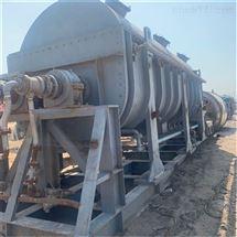 回收100平方二手双轴桨叶干燥机