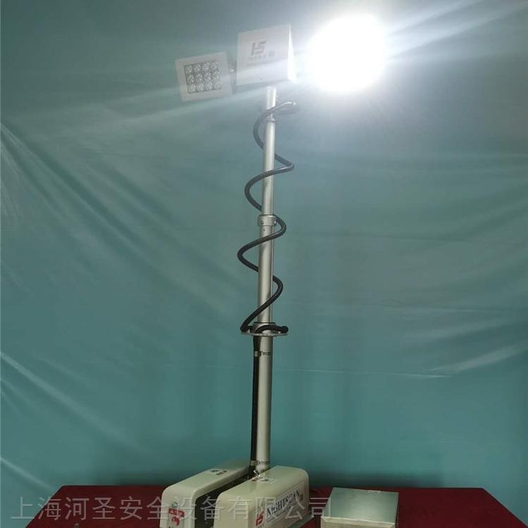 上海河圣 气压式车载照明设备 4灯头照明灯