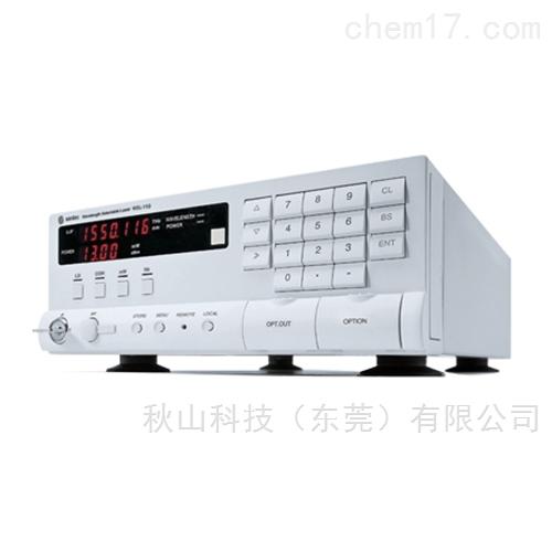 日本santec紧凑且高度可靠的的可变波长光源