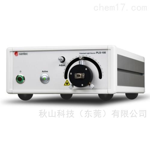 日本santec偏振轴可调的高消光比光源