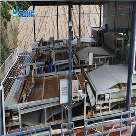 广州鸿业制砂泥浆处理设备 沙场污泥榨干机