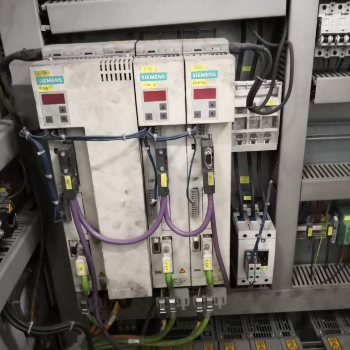 维修成功西门子伺服驱动器6SE70电机不转